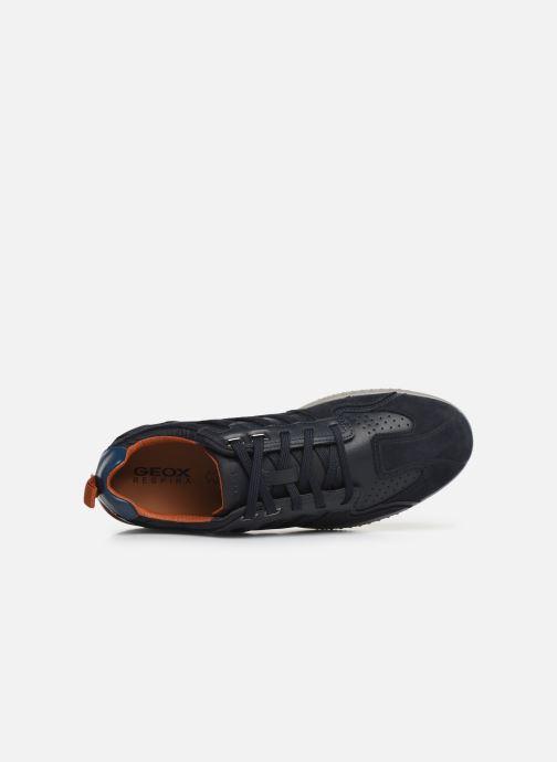 Sneaker Geox U SNAKE.2 A blau ansicht von links