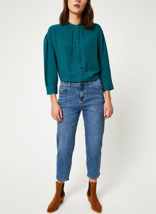 Vêtements Noisy May Nmliv Jeans Bleu vue bas / vue portée sac
