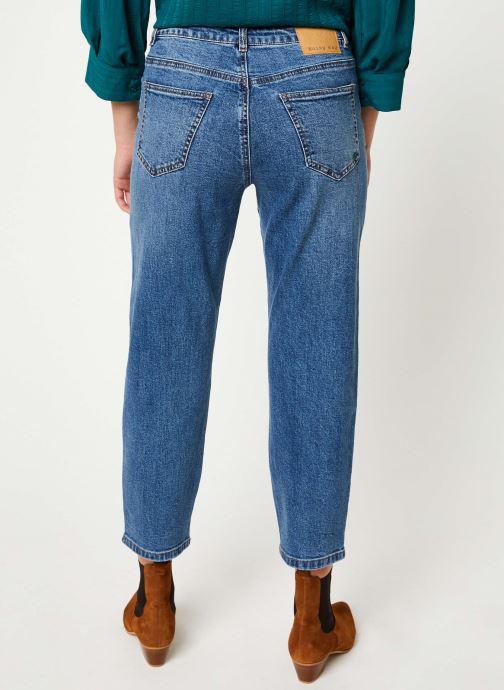 Vêtements Noisy May Nmliv Jeans Bleu vue portées chaussures