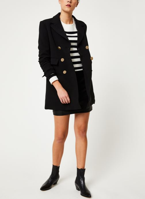 Vêtements Noisy May Nmrebel Short Skirt Noir vue bas / vue portée sac