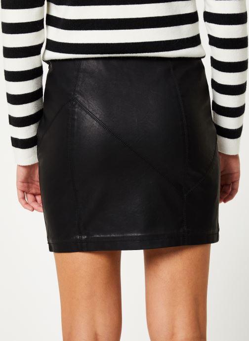 Vêtements Noisy May Nmrebel Short Skirt Noir vue portées chaussures