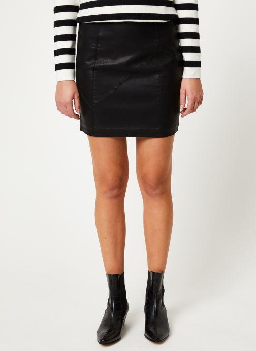 Vêtements Noisy May Nmrebel Short Skirt Noir vue détail/paire