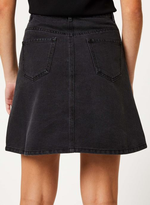 Vêtements Noisy May Denim Skirts SUNNY Noir vue portées chaussures
