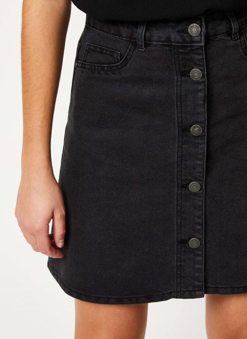 Vêtements Noisy May Denim Skirts SUNNY Noir vue face