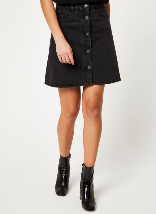Vêtements Noisy May Denim Skirts SUNNY Noir vue détail/paire
