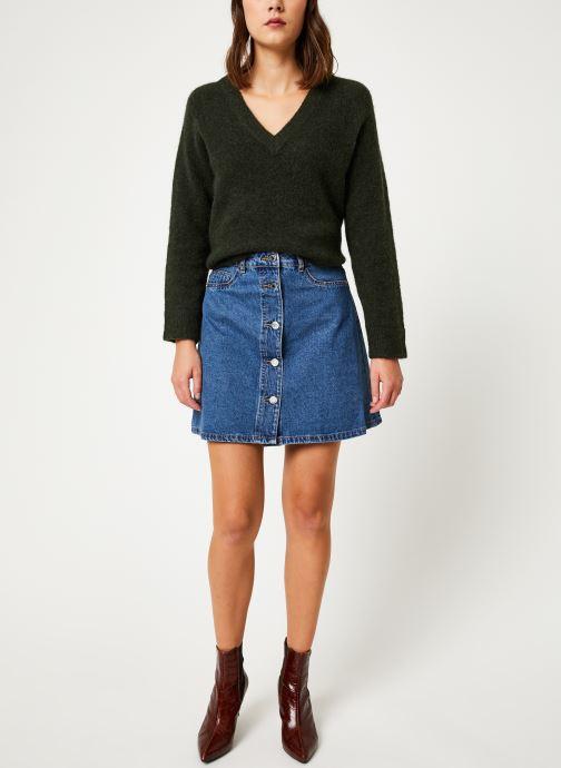 Vêtements Noisy May Denim Skirts SUNNY Bleu vue bas / vue portée sac