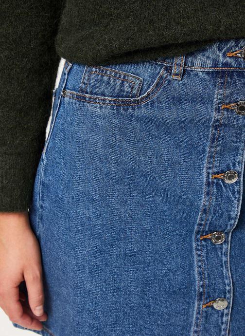 Vêtements Noisy May Denim Skirts SUNNY Bleu vue face