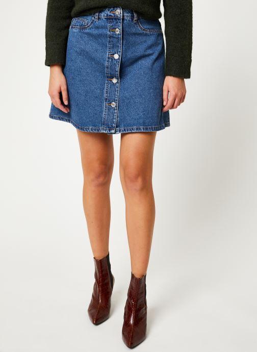 Vêtements Noisy May Denim Skirts SUNNY Bleu vue détail/paire
