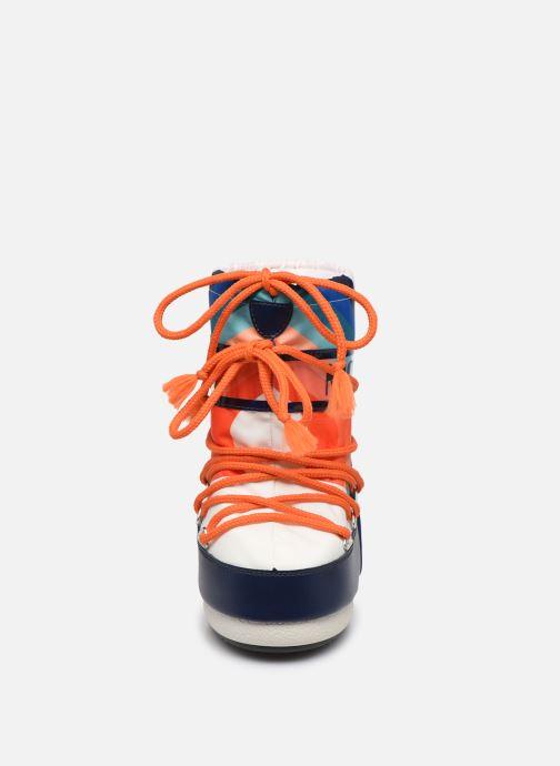 Chaussures de sport Moon Boot Moon Boot Nylon E x Sarenza Multicolore vue portées chaussures