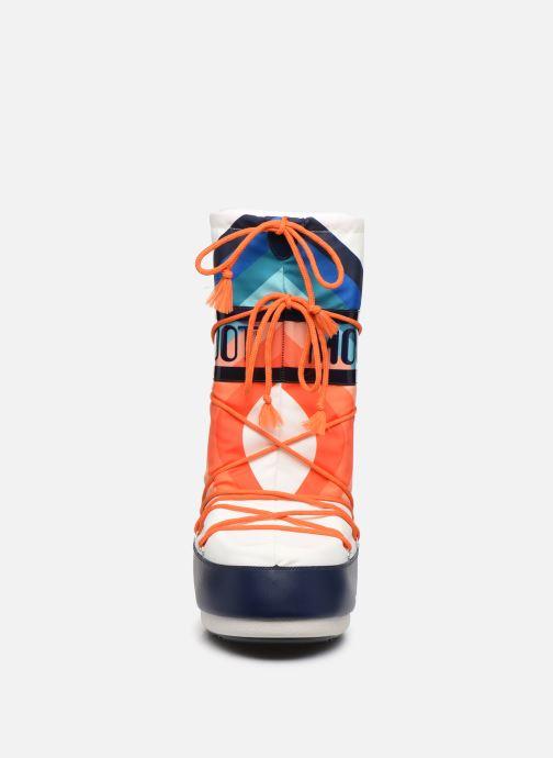 Chaussures de sport Moon Boot Moon Boot Nylon W x Sarenza Multicolore vue portées chaussures