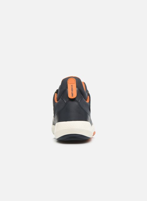 Trainers Geox U MODUAL B ABX Blue view from the right