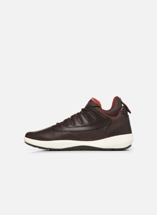 Sneakers Geox U MODUAL B ABX Marrone immagine frontale