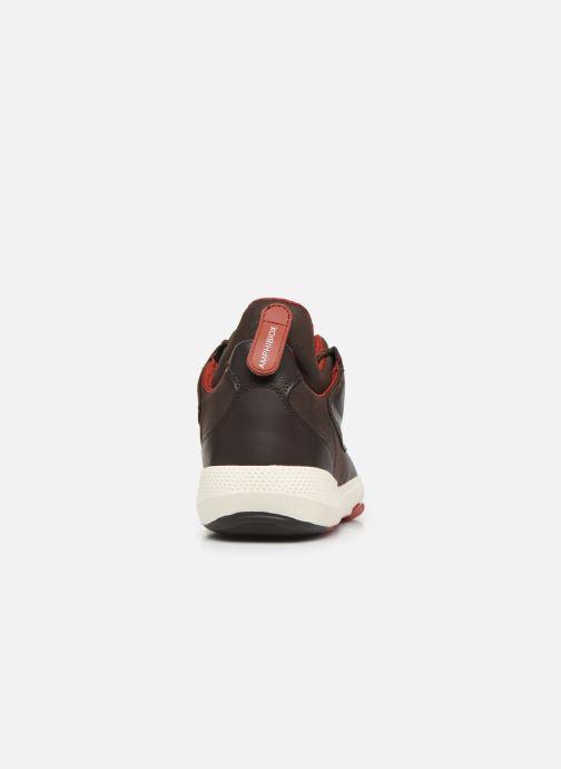 Sneakers Geox U MODUAL B ABX Marrone immagine destra