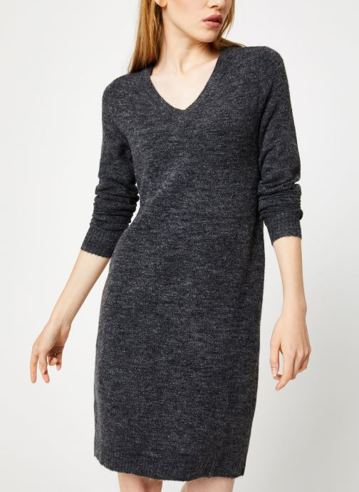 Tøj Vila Vivikka Knit Dress Grå Se fra højre
