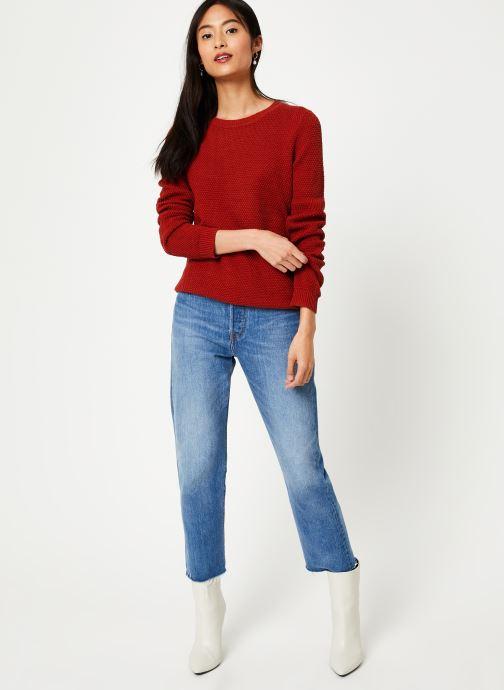 Vêtements Vila Vichassa Knit Rouge vue bas / vue portée sac