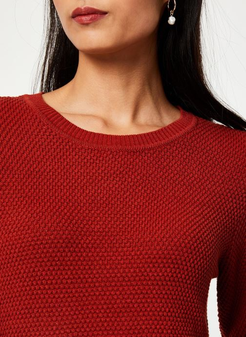 Vêtements Vila Vichassa Knit Rouge vue face