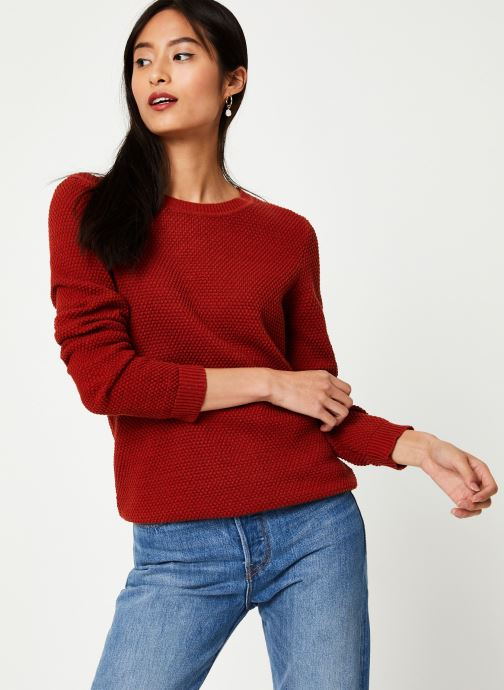 Vêtements Vila Vichassa Knit Rouge vue droite