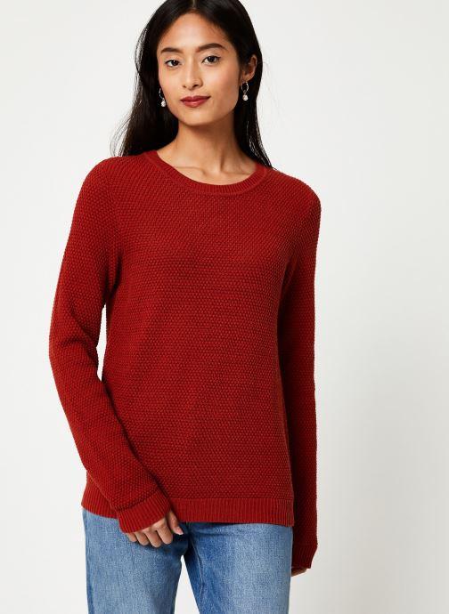 Vêtements Vila Vichassa Knit Rouge vue détail/paire