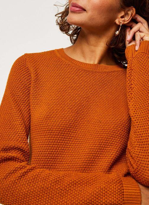 Vêtements Vila Vichassa Knit Orange vue face