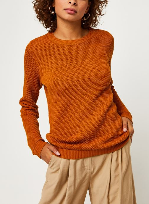 Vêtements Vila Vichassa Knit Orange vue droite