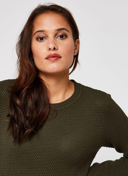 Vêtements Vila Vichassa Knit Vert vue face