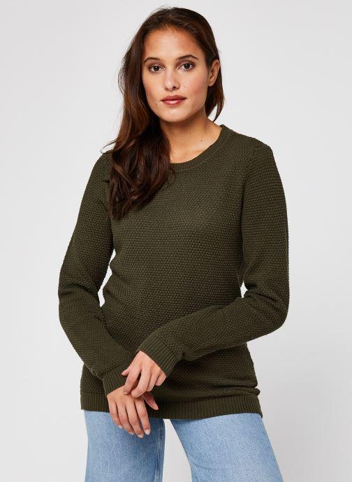 Vêtements Vila Vichassa Knit Vert vue droite