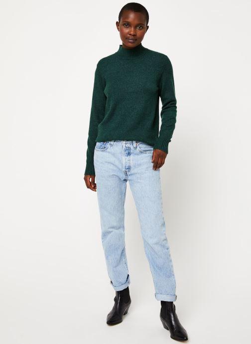 Vêtements Vila Viril Turtleneck Knit Vert vue bas / vue portée sac