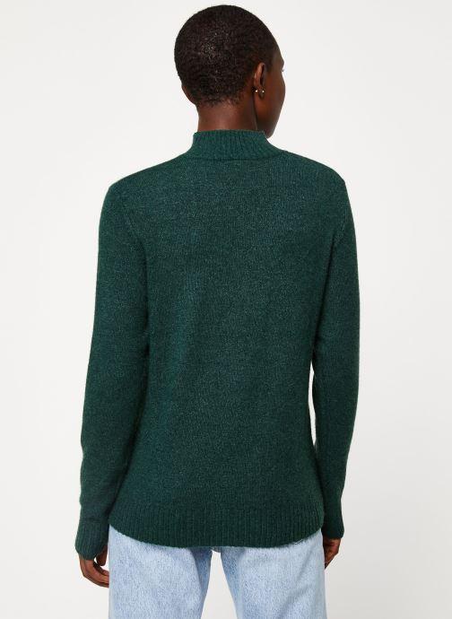 Vêtements Vila Viril Turtleneck Knit Vert vue portées chaussures