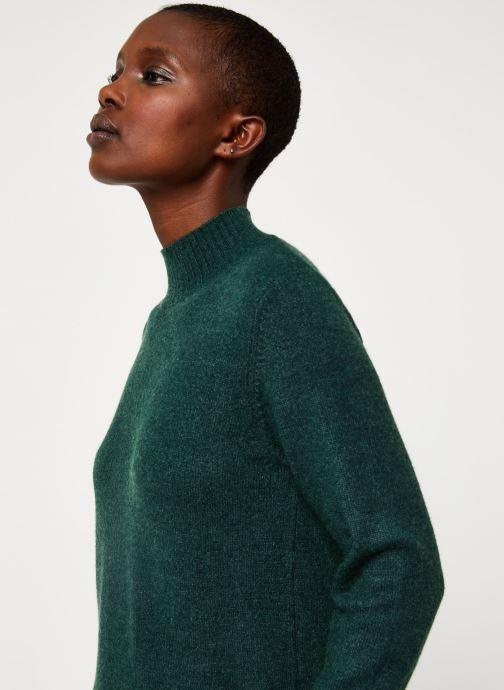 Vêtements Vila Viril Turtleneck Knit Vert vue face