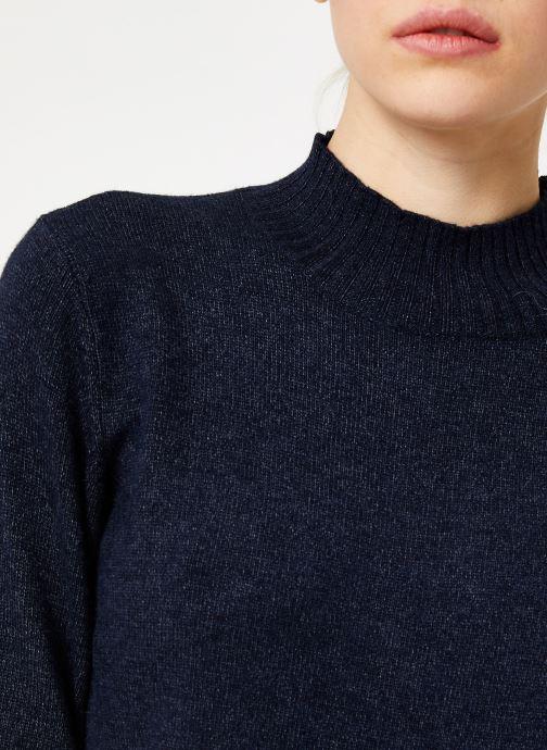 Kleding Vila Viril Turtleneck Knit Blauw voorkant