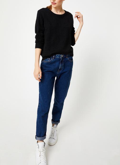 Vêtements Vila Viril Knit Top Noir vue bas / vue portée sac