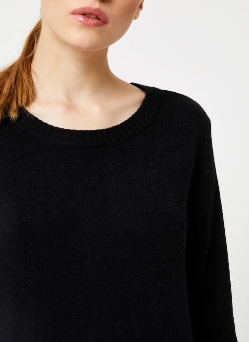 Vêtements Vila Viril Knit Top Noir vue face