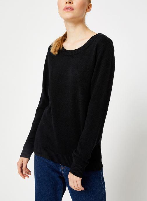 Vêtements Vila Viril Knit Top Noir vue détail/paire