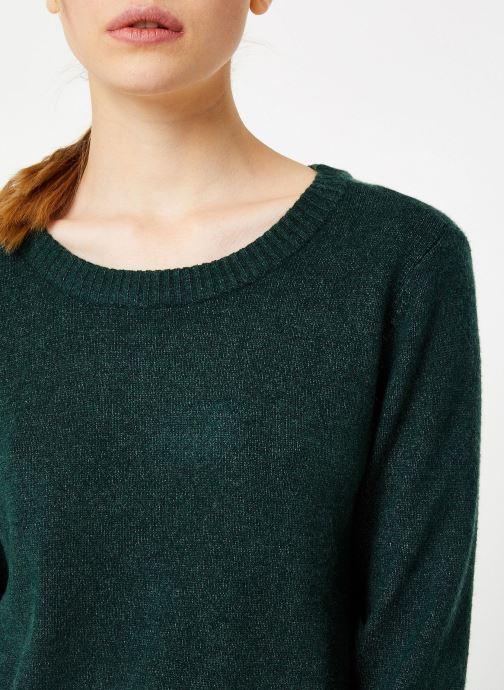 Kleding Vila Viril Knit Top Groen voorkant