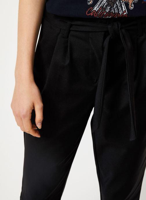 Vêtements Vila Visofina 7/8 Pant Noir vue face