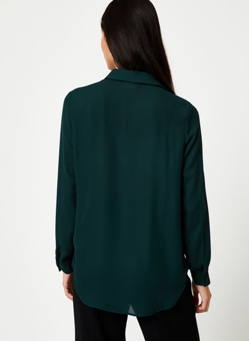 Kleding Vila Vilucy Button Shirt Groen model