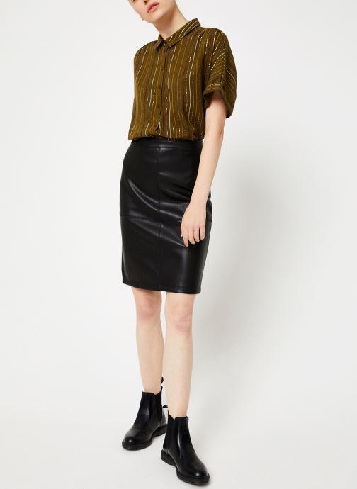Vêtements Vila Vipen Skirt Noir vue bas / vue portée sac
