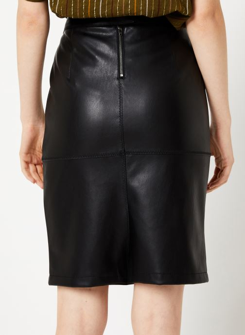 Vêtements Vila Vipen Skirt Noir vue portées chaussures