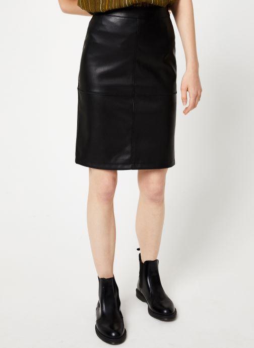 Tøj Vila Vipen Skirt Sort detaljeret billede af skoene