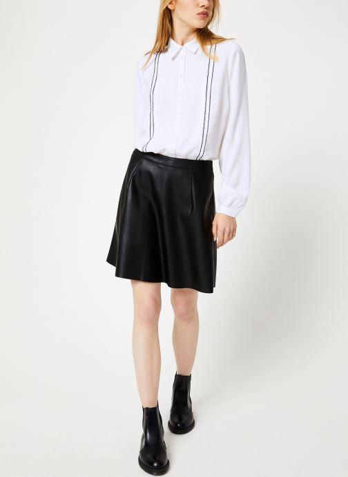 Vêtements Vila Vipen Skater Skirt Noir vue bas / vue portée sac