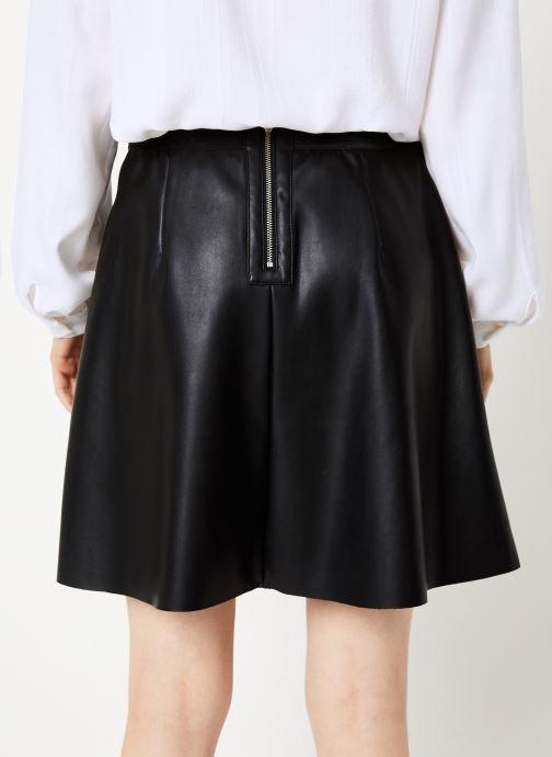 Vêtements Vila Vipen Skater Skirt Noir vue portées chaussures