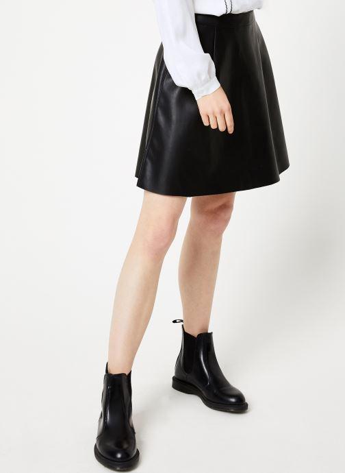 Vêtements Vila Vipen Skater Skirt Noir vue détail/paire