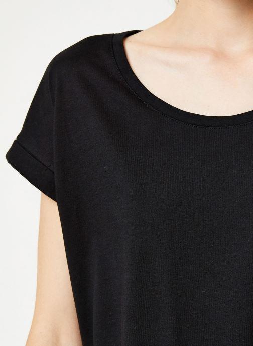 Tøj Vila Vidreamers T-Shirt Sort se forfra