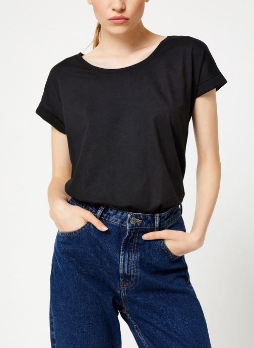 Tøj Vila Vidreamers T-Shirt Sort Se fra højre