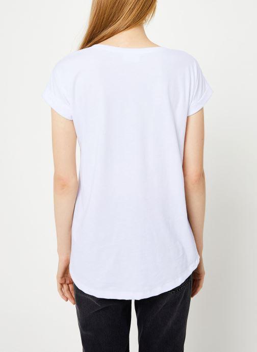 Kleding Vila Vidreamers T-Shirt Wit model