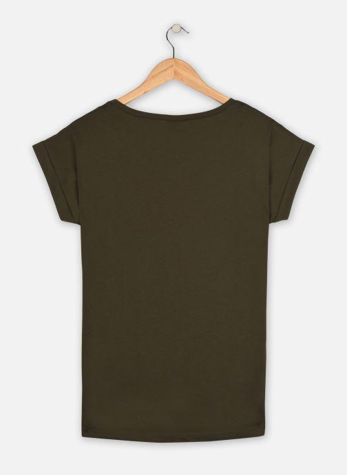Vêtements Vila Vidreamers T-Shirt Vert vue portées chaussures