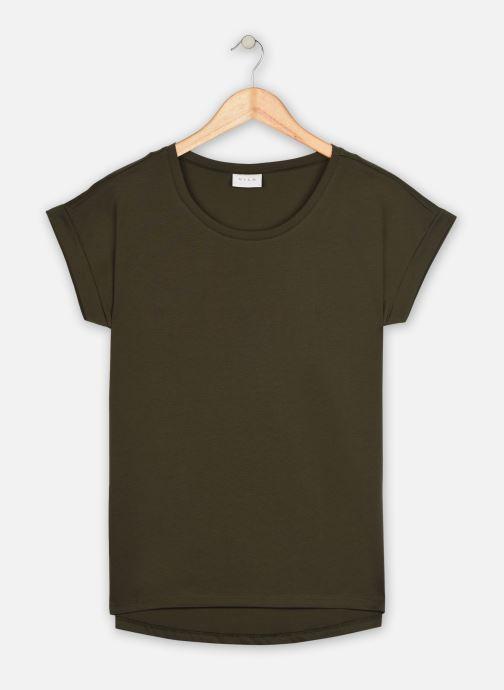 Vêtements Vila Vidreamers T-Shirt Vert vue détail/paire