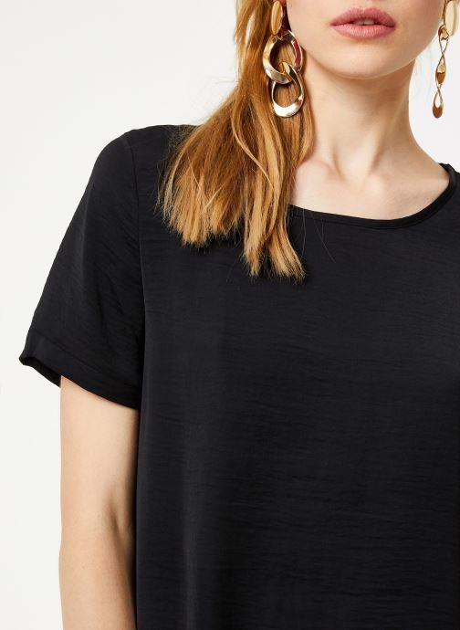 Vêtements Vila Vimelli New Top Noir vue face