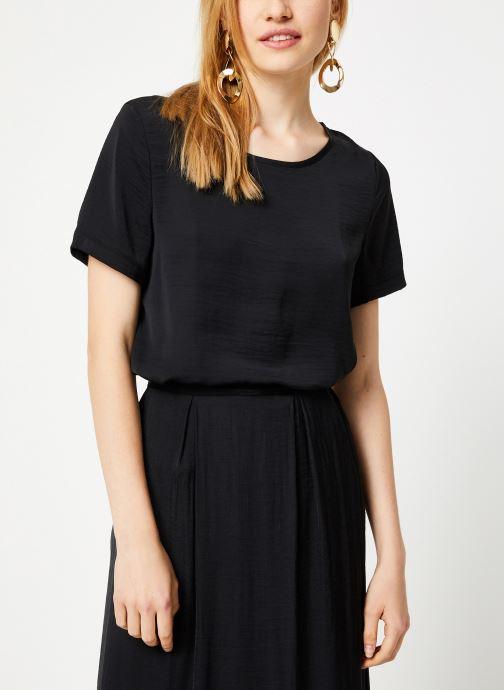 Vêtements Vila Vimelli New Top Noir vue droite