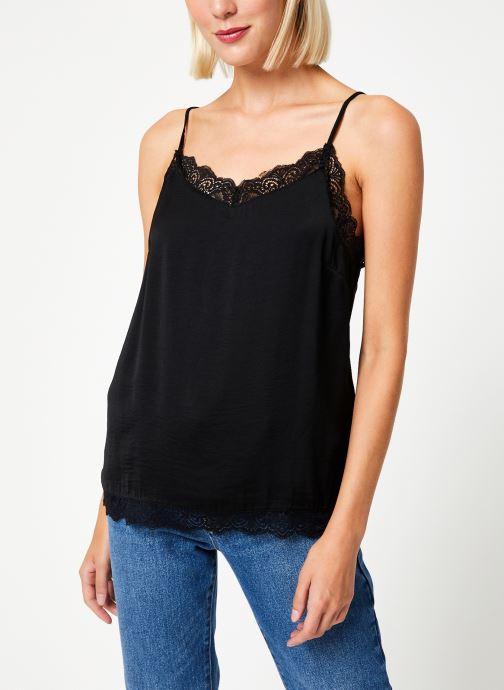 Vêtements Vila Vicava Lace Singlet Noir vue droite